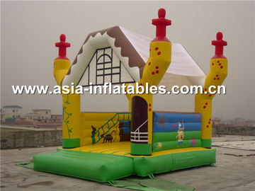 China 2014 new design advertising inflatable combo unit/promotion PVC inflatable jumping bouncer factory