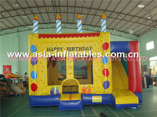 China Dreamland Inflatable Combo Bounce House slide inflatable bouncer factory