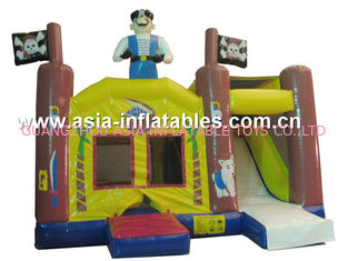China 2014 Hot sale Inflatable bouncer house Inflatable combo with slide factory