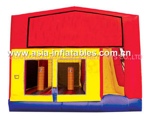 China Popular Inflatable Bouncy Castle Inflatables China / Inflatable Combo for Kids factory