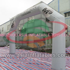 China Sealed Inflatable Arch For Advertising , Start and Finish Line Advertising Inflatable Archway factory