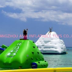 0.9mm PVC Tarpaulin Inflatable Water Sports Games / Blow Up Iceberg