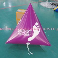 Panton Purple Color Dive Flag & Inflatable Buoys For Lake , River