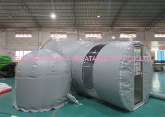 Durable Grey Outdoor Camping Inflatable Bubble Tent 2 Years Warranty