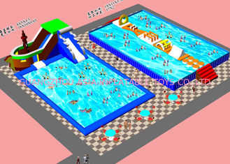China Outside Kids  Inflatable Water Park With ASTM CE UL Certificate factory