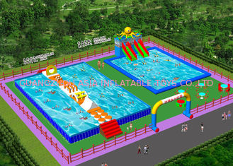 China Waterproof Outdoor Inflatable Amusement Park Project  For Adults factory