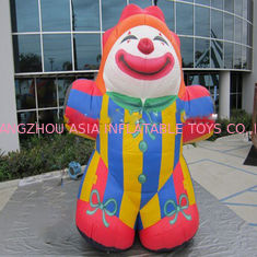 China Funny Large Outdoor 15FT Advertising Inflatables Clown Cartoon For Promotion factory