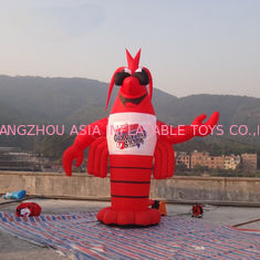 China 10ft  Customized Giant Inflatable Lobster For Party / Event / Theater factory