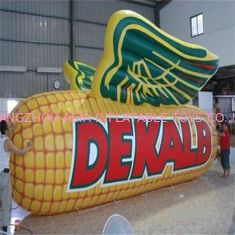 China Water Resistant  Inflatable Corn Model / Inflatable Vegetables Logo For Farm factory