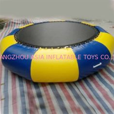 0.9mm PVC Tarpaulin Round Inflatable Water Sports / Inflatable Aqua Jump Eclipse Water Park