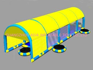 China 2014 New Design Kids Inflatable Pool with Suncover Roof factory