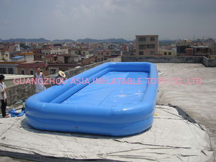 China Lovely New Design Huge Commercial PVC Adults and Kids Inflatable Pool with Various Colours factory