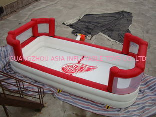 China White Colour Kids Inflatable Pool with Back Walls factory