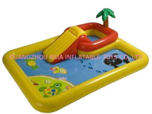 China Hotsale Kids Inflatable Pool Center with Basketball Hoop factory