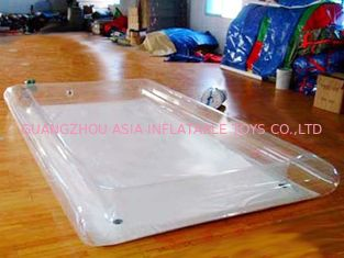 China Transparent Water Park Kids Inflatable Pool for Sale factory