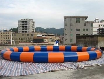 China Homeusing Circular Water Park Kids Inflatable Pool for sale factory