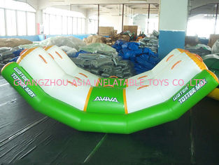 China Inflatable Water Games Water Totter With One Tube For Children factory