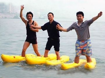 China Walking On The Water, Inflatable Water Shoe For Water Amusement factory