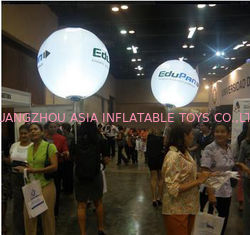 Advertising Inflatables Backpack Balloon With Light For Outdoor Entertainment