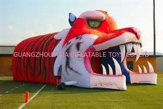 China Giant Inflatable Tiger Tunnel, Infaltable Tunnel For Outdoor Advertising factory