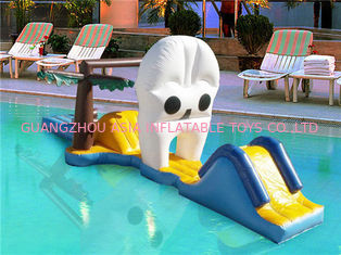 China Water Floating Sports Equipment, Inflatable Water Slide For Pool Games supplier