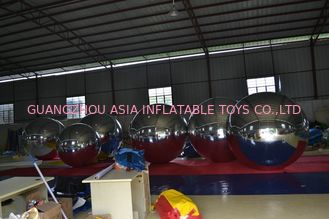 Cartoon PVC Sliver Inflatable Advertising Balloons For Party Decoration