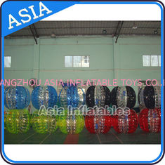 China 0.8mm Pvc Colorful Bumper Ball Inflatable For Soccer Sports Game supplier