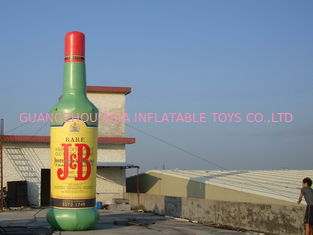 China Advertising Display PVC Inflatable Bottles for Sale factory