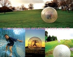 China Hotsale Inflatable Zorb Ball Played On Grassland factory