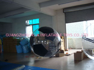 China PVC / TPU Football Shape Design Water Balls Play for Kids Inflatable Pool factory