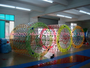 China 2014 Amusement Inflatable Water Roller Ball with Colorful Dots factory
