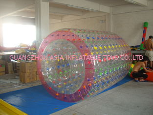 China High Quality Color Dot Inflatable Water Roller for Recreation In Kids Inflatable Pool factory
