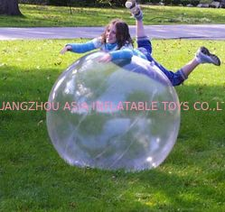 China Customize PVC / TPU Inflatable Human Spheres for Kids and Adults Inflatable Pool factory