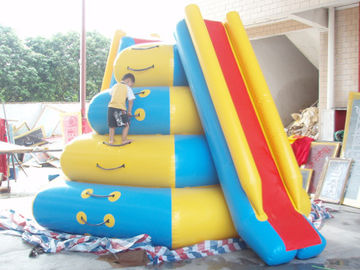 Leisure Inflatable Water Sports / Inflatable Water Tower with climbing