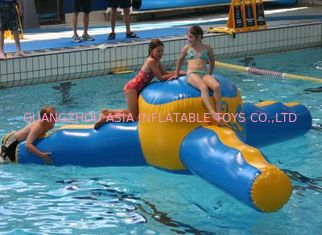 China OEM 12.5m L x 3.5m W High Density Inflatable Water Sports / Airflow Water Games supplier