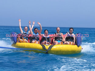 China Commercial Grade Inflatable Crazy UFO , Towable Inflatables Water Ski Tubes factory