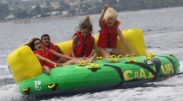 China Outdoor Inflatable Water Park Sports , Inflatable Towable Water Sofa factory