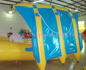 China Exciting Inflatable Flying Fish Boat for Entertainment , Easy To Set Up factory