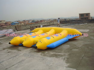 China Hot Air Welded Inflatable Flying Fish Boat for 6 Passengers factory