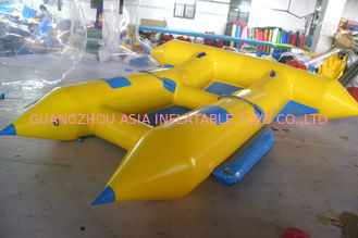 China Customize Inflatable Flying Fish Boat for 4 Rides Ocean Adventure Sport factory