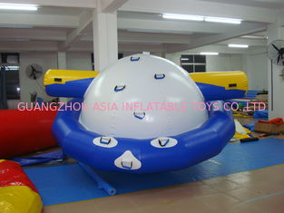 China Commercial Inflatable Ufo Floating On Water For Water Amusement Activities factory