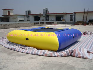China Air Tight Inflatable Water Square Trampoline Water Toys For Water Sport Games factory