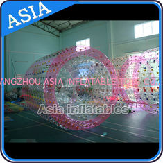 China 0.8mm PVC / TPU Inflatable Goods Harness Water Roller Ball Price factory