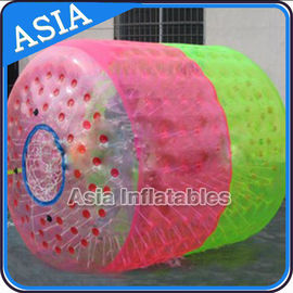 China Large Floating Wheel Inflatable Water Walking Roller Ball For Sale factory