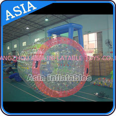 China Adult Size New PVC Inflatable Water Walking Roller Ball for Water Pool factory