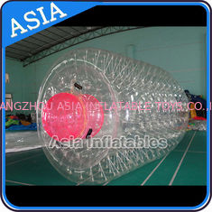China Swimming Pool / Park Transparent Inflatable Water Roller Ball factory