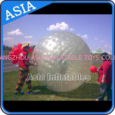 China Transparent Inflatable Grass Ball Zorb Balls For Sale , Inflatable Zorb Ball factory
