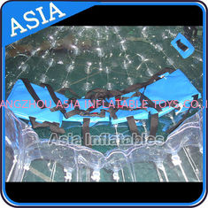 China TPU Transparent Inflatable Grass Zorbing Ball with Safety Harnesses factory