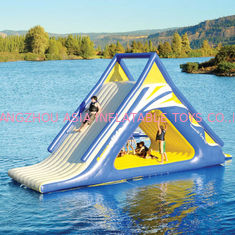 China Aquaglide Summit Express Inflatable Water Sports / 16' Gigantic Inflatable Water Slides supplier