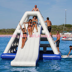China Hot air welded Aquaglide Jungle Joe 2 / Inflatable Water Toys For Water Park supplier